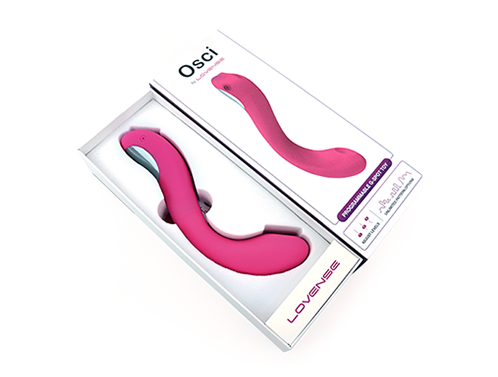 Osci by Lovense packaging.